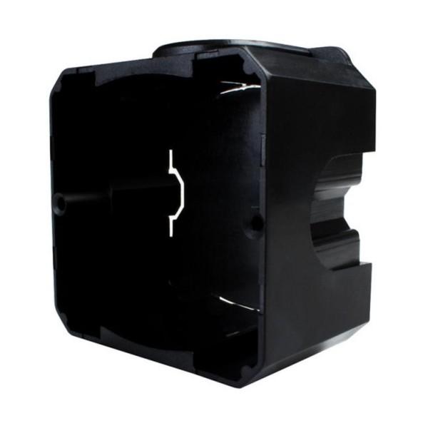 Unterputzdose Schalterdose Einbaudose Schwarz EU-80-WSMB 20 Stk