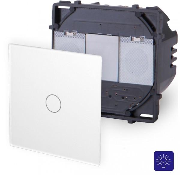 POINT Touchsreen Dimmer 1 Fach Modul in Weiß P-701D-11