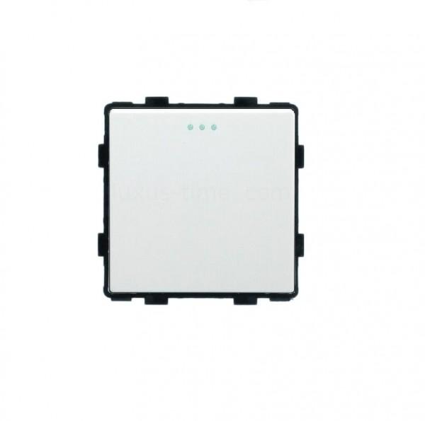 LUX Wipp Lichtschalter/Wechselschalter Modul 1 Fach in Weiß LX-101M-11