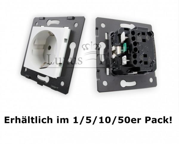 Innenleben Steckdose Modul VDE Klemminstallation für Livolo LEG-77211 im Pack 10 Stück