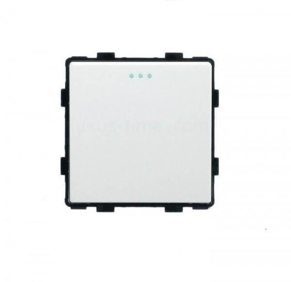 LUX Wipp Taster Lichtschalter Modul 1 Fach in Weiß LX-101B-11