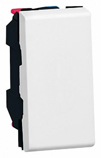Wechseltaster mit Wippe Taster 1/2 Weiss LG077031