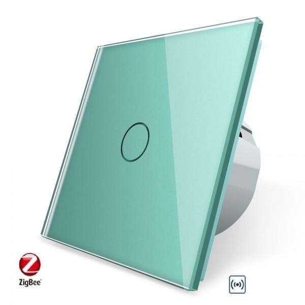 LIVOLO ZigBee Smart Lichtschalter 1 Fach VL-C701Z-18 Grün