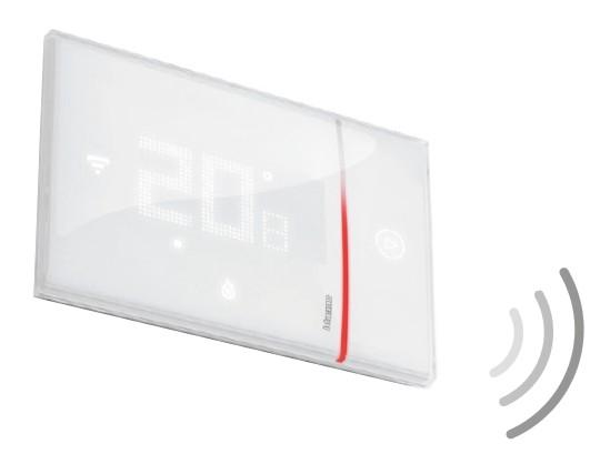 Smarther Thermostat Smart in weiß für Unterputzdosen per App steuerbar LEG X8000