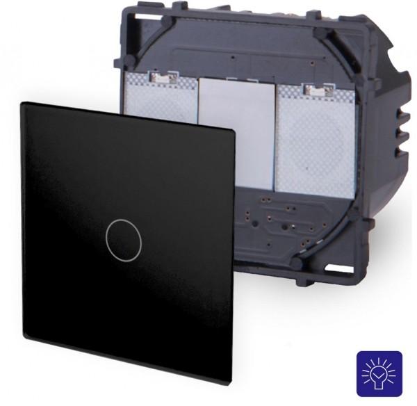 POINT Touchsreen Dimmer 1 Fach Modul in Schwarz P-701D-12