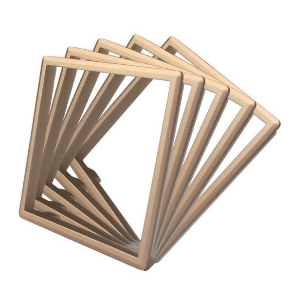 LIVOLO 5 x Rahmen in Gold für Livolo Steckdosen
