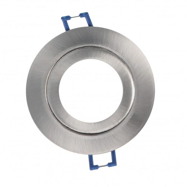 LED Einbaustrahler Nur Rahmen IP44 Decken Spots Blende LED-frames-Silver in Silber