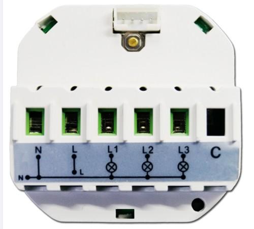 Smart Home WiFi WLAN Adapter Switch Schalter Funkschalter Unterputz L6 Modul